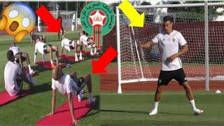 تداريب صارمة للاعبين منتخب المغربي وعودة نبييل درار في الحصة التدريبية الثانية في روسيا