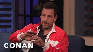 "Adam Sandler On Hosting ""SNL"" & His Touching Tribute To Chris Farley - CONAN on TBS"
