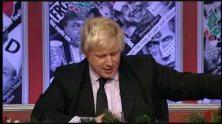 Boris Johnson Gets Grilled by Panelists (HIGNFY)