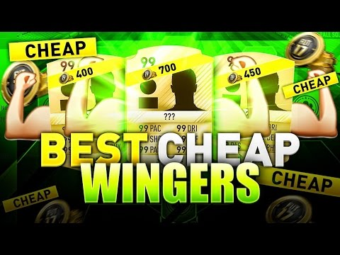 BEST CHEAP WINGERS in FIFA 17 ULTIMATE TEAM - MOST OVERPOWERED AFFORDABLE LEFT & RIGHT WINGERS