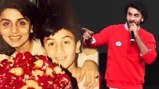 Ranbir Kapoor's FUNNY Incidents During His Childhood Days