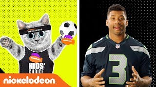 Russell Wilson Says Touch This Blimp! | KCS 2017 | Nick