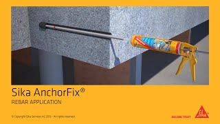 Sika AnchorFix® - REBAR APPLICATION