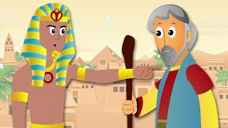 Bible Stories For Kids | 2 Popular Bible Stories | Moses Exodus | The Story of Ruth