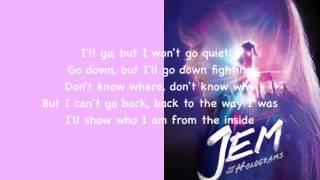 """The Way I Was (From """"Jem and The Holograms"""") Lyric Video"""