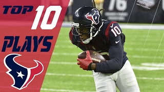 Texans Top 10 Plays of the 2016 Season | NFL Highlights