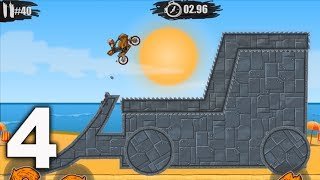 MOTO X3M Bike Racing Game - levels 31 - 45  Gameplay Walkthrough Part 4 (iOS, Android)