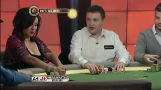 """All-in without looking"" Tony G vs Phil Hellmuth / The Big Game (Season 2; Week 6)"