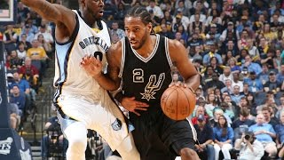 Kawhi Leonard Scores Playoff Career-High 43 in Game 4 | April 22, 2017