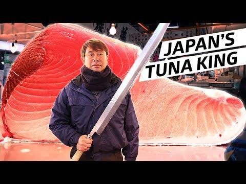 Xxx Mp4 The Tuna King Reigns At Tsukiji Fish Market — Omakase Japan 3gp Sex