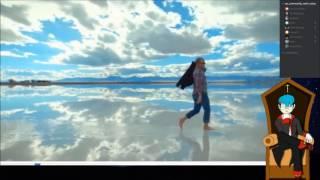 Beweist die Salzwüste Salar de Uyuni die Flache Erde? (Ausschnitt von SkepticPunk)