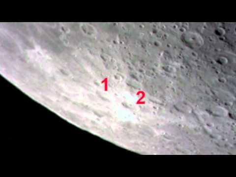 Mondbeobachtung mit Webcam