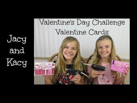 Valentine's Day Card Challenge ~ Jacy and Kacy