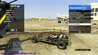 GTA 5 - Modded Fun Lobby #1 (Money Drops / Modded Cars / Dancing + More! - Supernatural Menu)