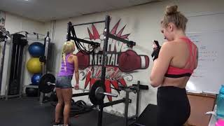 Kendra Sunderland Carmen Caliente Working Out - Coach Dwayne Surprise Answer For Favorite Fighter
