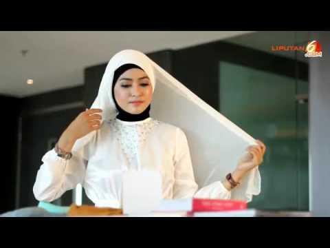 Beautiful Hijab style Tutorial 2017