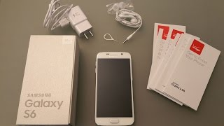 Samsung Galaxy S6 (White 32GB SM-G920) unboxing by Intellibeam.com