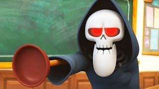 Funny Animated Cartoon | Spookiz | Plunger Hand?!  | 스푸키즈 | Kids Cartoon | Kids Movies