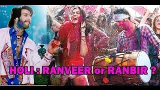 Deepika's Holi : Ranveer or Ranbir ??