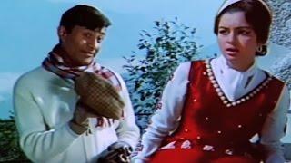 Dev Anand tries to Flirt with Asha Parekh - Mahal Scene 5/8