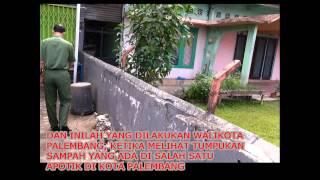 Walikota Palembang Tegur Penjaga Toko