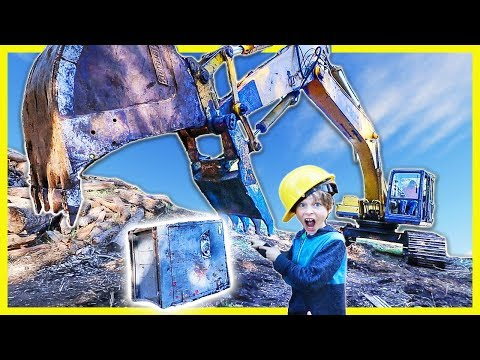 Xxx Mp4 BREAKING OPEN ABANDONED SAFE With GiANT EXCAVATOR ACTUALLY OPENS😱 3gp Sex