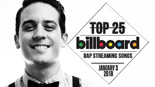 Top 25 • Billboard Rap Songs • January 3, 2018   Streaming-Charts