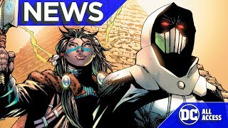 DC NEW AGE OF HEROES: First Look @ Covers + Injustice 2 Black Manta & More