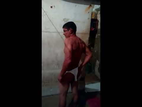 Preso por tentativa de estupro sendo recebido na CPP Palmas