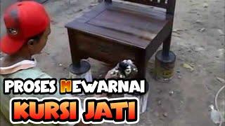 Finishing Mebel Jati Furniture Jepara