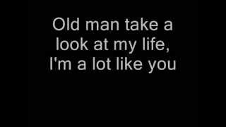 Neil Young - Old Man (Lyrics)