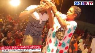 Msaga Sumu Aweka Rekodi ya Pekee Dar Live Idd Mosi