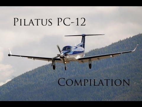 Pilatus PC 12 Compilation