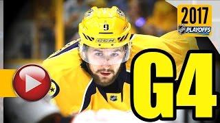 Anaheim Ducks vs Nashville Predators. NHL 2017 Playoffs. Western Conference Final. Game 4. (HD)