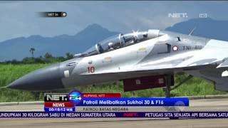 Indonesia Perketat Perbatasan Timor Leste & Australia dengan Terjunkan 3 Pesawat Sukhoi - NET24