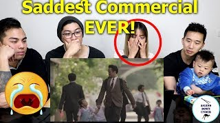 Watching The Saddest Commercial Ever!   Reaction - Australian Asians【全世界最感人的广告】《我的父亲是个骗子》/《爸爸的故事》
