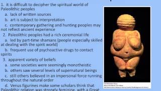 Paleolithic & Neolithic Age Week 1