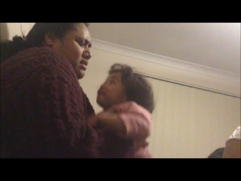 3 YEAR OLD CHILD PROTECTS HER AUNTY!!!