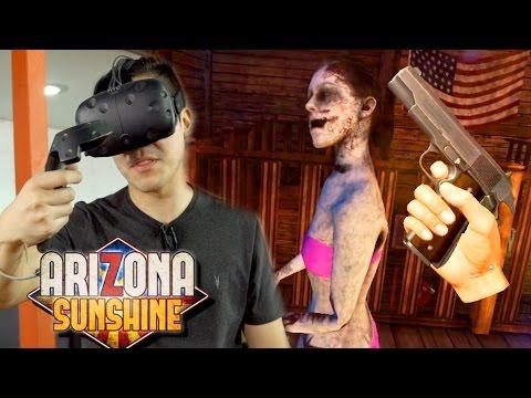 VR ZOMBIE Co-op Shooter - ARIZONA SUNSHINE