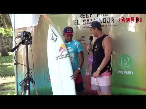 Ticos en el Reef Pro El Salvador 2013
