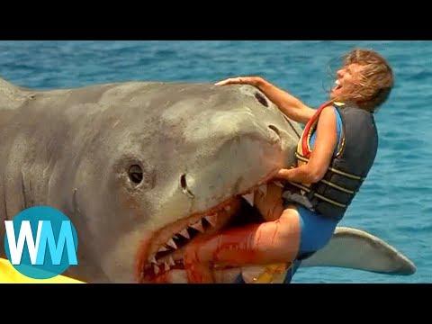 Xxx Mp4 Top 10 Scariest Movie Shark Attacks 3gp Sex