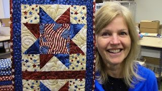 Floating Point North Star | New Pattern Designed by Donna Jordan