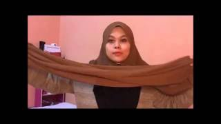 TUTORIAL SHAWL (DAILY STYLE)