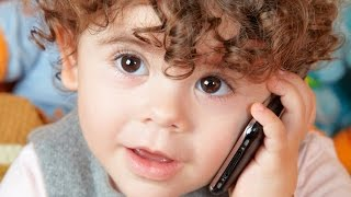 Funny Babies Talking on the Phone Compilation 2014