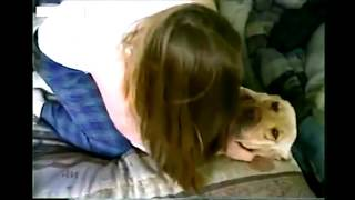 GIRL AND DOG - Girl playing with dog - Dog Fun with Young Girl Viral New Doggy Video of the week