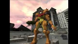 Haloid: Halo vs Metroid (Master chief vs Samus Aran) HD