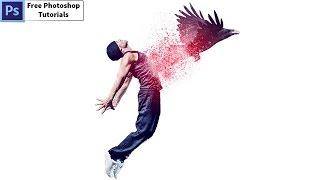Tutorial Photoshop Disintegration Effect | Raven