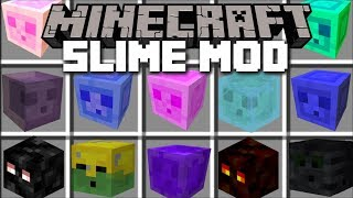 Minecraft SLIME MOD / FIGHT OFF GIANT SLIMES AND THE EVIL ZOMBIE EXPERIMENT!! Minecraft