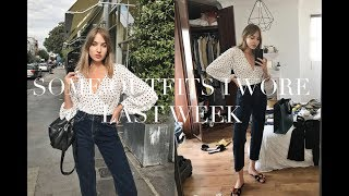 What I Wore Last Week | New Jeans I Love!