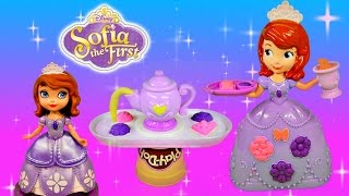 PLAY DOH Sofia The First Tea Party Set Disney Princess Royal Playdough Toy Videos by DCTC